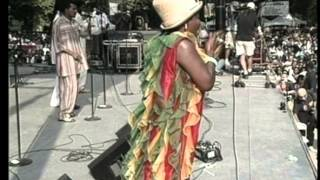 Summer Stage 1996 - Ziggy Marley & Rita Marley - [fragment]
