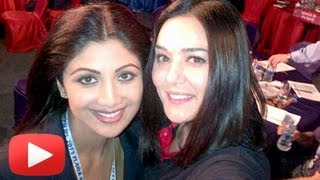 Shilpa Shetty, Priety Zinta At IPL 2013 Auction [HD]