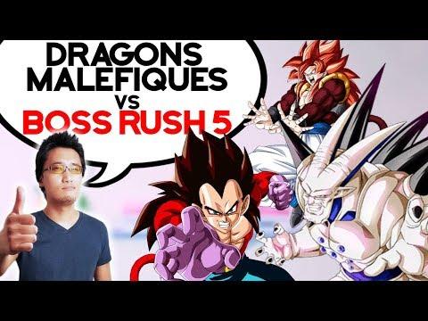 DRAGONS MALÉFIQUES vs Boss Rush 5 ! - DOKKAN BATTLE