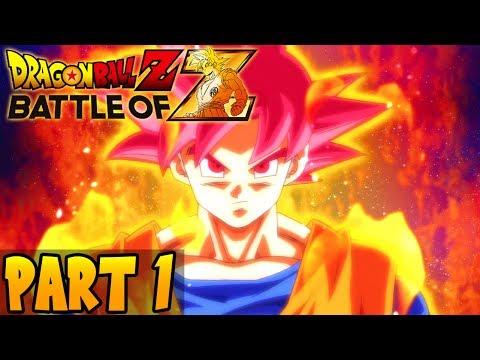 DragonBall Z Battle of Z Part 1 Playthrough