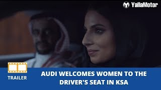 Audi welcomes women to the driver