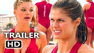 """BAYWATCH """"Suit Rides Up Our Asses"""" TV Spot Trailer (2017) Alexandra Daddario Comedy Movie HD"""