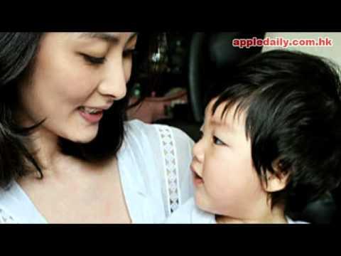陳慧琳Kelly與10個月BB蝦餃仔(劉昇Chace)在網誌上載新照片!