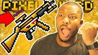 I UNLOCKED THE MYTHICAL GOLDEN FRIEND!   Pixel Gun 3D