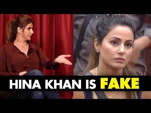 Xxx Mp4 Hina Khan Is FAKE Zareen Khan BLASTS Bigg Boss 11 Contestant For Her BULGING Comment SpotboyE 3gp Sex