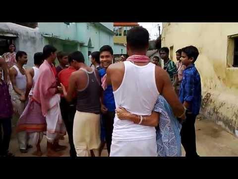 durga bijoya  dance with dhak