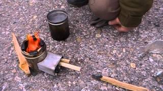 How to Micro Rocket Stove - Urban Survival