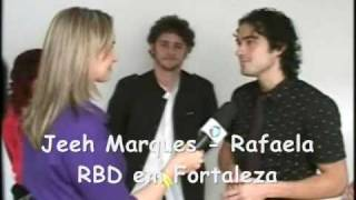 Entrevista RBD em Fortaleza   Record   25.11.2008 PART  1