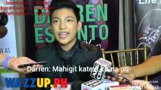 Darren talk about Kyline Alcantara