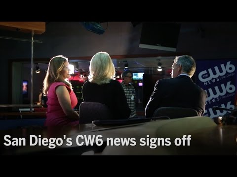 Video San Diego's CW6 news signs off