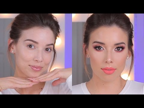 PEACH MAKEUP TUTORIAL | LUSTRELUX