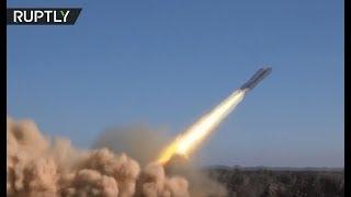 Syrian Arab Army battle ISIS militants in the Tulul al-Safa region, Syria