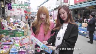 EXID Funny Clip #164- Shopping with LE and Hani