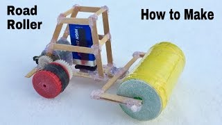 How to Make a Car - Mini Road Roller - Very Fast and Simple - Tutorial