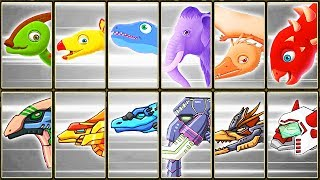 Archaeologist Jurassic + Dino Robot Corps #2 | Eftsei Gaming
