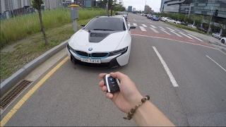 !!!BMW I8 POV DRIVE 0-60mile!!! BMW I8 제로백 테스트 in KOREA