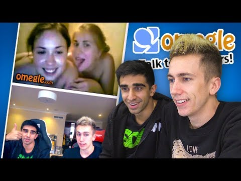 OMEGLE 3 with Vikkstar & Simon Omegle Funny Moments