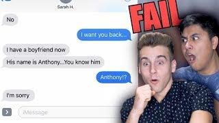 Text Prank On Ex-Girlfriend!
