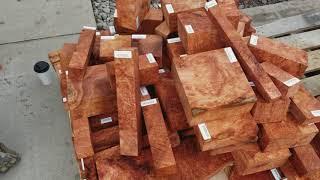 Redwood Burl Turning Wood