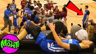 LaMelo Ball GETS HURT AFTER CRAZY FIGHT - Melo
