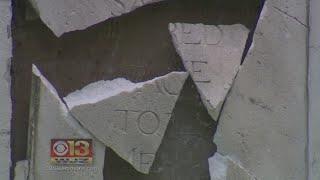 Christopher Columbus Monument Vandalized In Baltimore