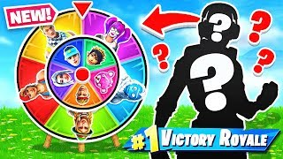 RANDOM SKIN Spin The WHEEL *NEW* Game Mode in Fortnite Battle Royale