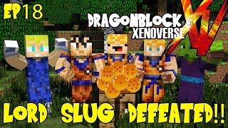 Dragon Block Xenoverse: Lord Slug Defeated!! (Dragon Ball Z Minecraft EP 18)