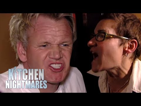 The ANGRIEST Owner Of All Time Kitchen Nightmares