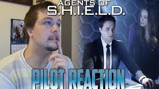 Agents of SHIELD Season 1 Episode 1: Pilot Reacton