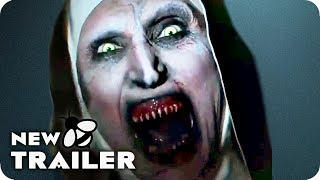 THE NUN Terrifying Clips, Featurette & Trailer (2018) Horror Movie