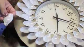 DIY Under 20 Dollar Wall Clock