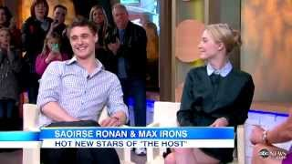 Max and Saoirse's interview on GMA