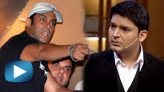 OMG! Salman Khan Gets Angry On Kapil Sharma