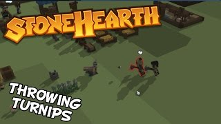The Engineer And His Turnip Shooter - Stonehearth Alpha 19 Gameplay - Part 7