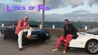 Pitbull - Fun (lyrics)