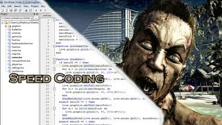 Speed Coding - Zombie Game (Love2D)