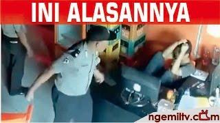 Alasan Polisi Aniaya dan Pukul Anak SMA dan Penjaga Warnet yang terekam CCTV 1080p HD