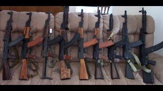 AK47, AKM, RPK, and AK74 Series Comparison (AK Series 1)