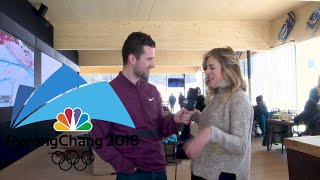 Ashley Wagner gives us a tour of the Team USA House in PyeongChang