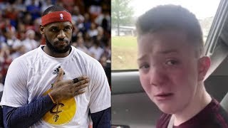 LeBron James RESPONDS to School Bullying Victim Keaton Jones