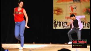 TATA Telugu NITE Dec 01 2012 - MELIKALU TIRIGE MEDLEY - Gopi  and Emily Hill