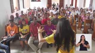 Reportagem sobre a primeira equipe de Calebes Surdos da América do Sul