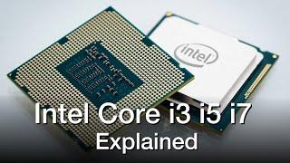Intel Core i3 vs i5 vs i7 Processors - Explained