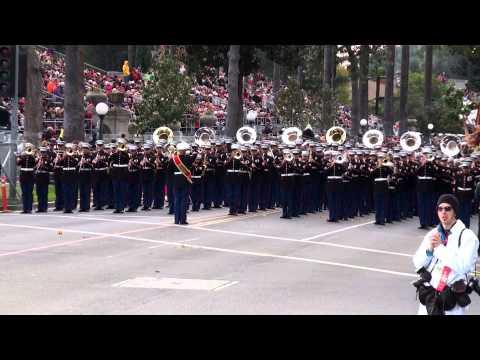 watch USMC West Coast Composite Band - 2013 Pasadena Rose Parade