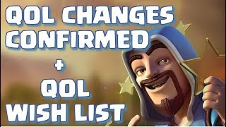 CONFIRMED QUALITY OF LIFE CHANGED + QOL WISH LIST | Mister Clash