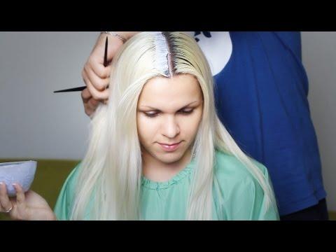 Покрасить волосы в блондинку в домашних условиях