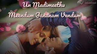 Tamil whatsapp status || Download👇 || #RJstatus || Nenjodu song from kathal konden movie