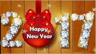 Happy New Year 2017 Greetings/ Whatsapp video/ E card/ New Year Wishes Message Video