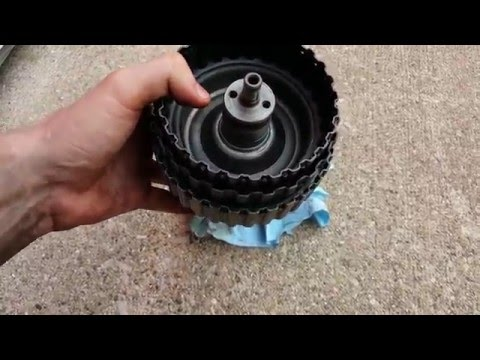 VW 01m Forward Drum Dis-assembly Tips