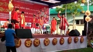 হবিগঞ্জ শিল্পকলা একাডেমীর জঙ্গিবাদ বিরোধী নাটক